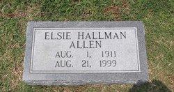 Elsie Louise <i>Hallman</i> Allen