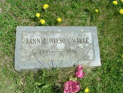 Fannie Leah <i>Wilson</i> Wikel
