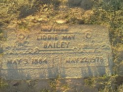 Liddie May <i>Thornton</i> Bailey