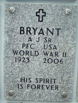 A J Bryant, Sr