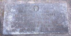 Sgt Robert R. Kinsell