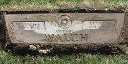 Stephen Fletcher Steve Walch, Sr