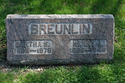 Bertha <i>Snyder</i> Breunlin
