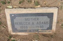 Rebecca Augusta <i>Tanner</i> Adams