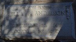 Ella E Anderson