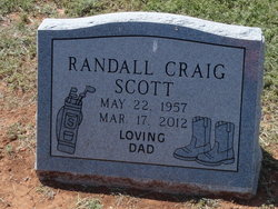 Randall Craig Randy Scott