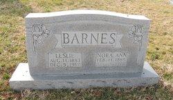 Nora Ann <i>Pendleton</i> Barnes