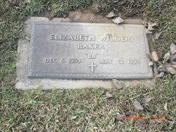 Elizabeth BB <i>Wilder</i> Baker