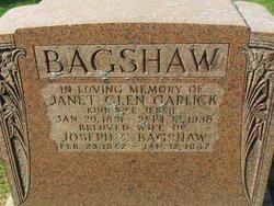 Janet Glen <i>Garlick</i> Bagshaw
