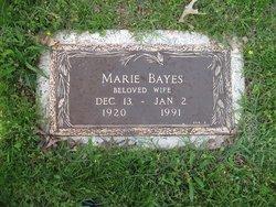 Marie <i>Strickland</i> Bayes