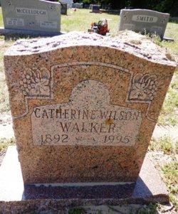 Catherine <i>Wilson</i> Walker