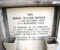 Manuel Alegria Arriaga