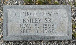 George Dewey Bailey, Sr