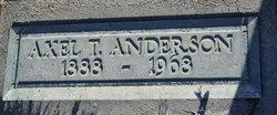 Axel T Anderson