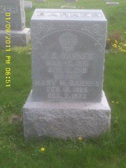 Mary Magdaline <i>Graves</i> Barnes