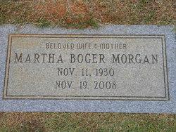 Martha Isabell <i>Boger</i> Morgan
