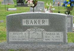 Sarah Marie <i>Hicks</i> Baker
