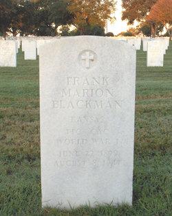 Frank Marion Blackman