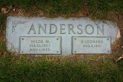 A Leonard Anderson