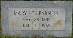 Mary Caldonia <i>Scoggins</i> Parnell