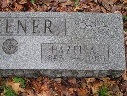 Hazel A <i>Reimer</i> Fleener