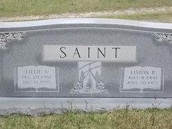 Lillie Bell <i>Alsbrooks</i> Saint
