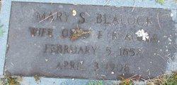 Mary <i>Davenport</i> Blalock