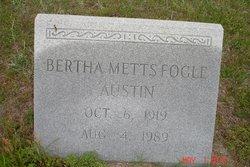 Bertha Mae <i>Metts</i> Austin