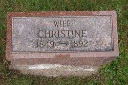 Mrs Christine <i>Marx</i> Beckman