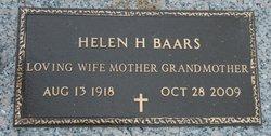 Helen <i>Hardison</i> Baars