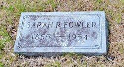 Sarah Rebecca <i>Lusk</i> Fowler