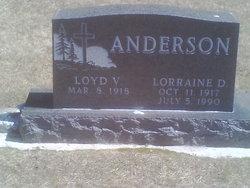 Lorraine Doris <i>Tietjen</i> Anderson