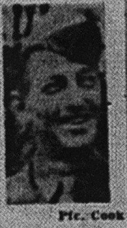 Pvt Laverne George Buster Cook