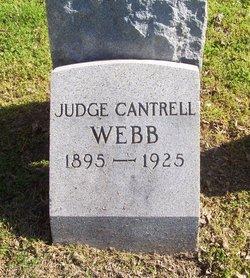 Judge Cantrell Webb