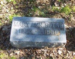 Mary Ann Shone