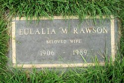 Eulalia M <i>Allison</i> Rawson