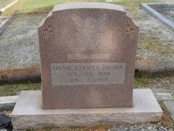 Ovvie <i>Cooper</i> Brown