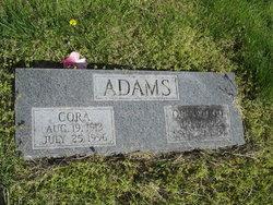 Cora <i>Harmon</i> Adams