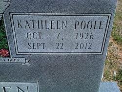 Kathleen <i>Poole</i> Allen