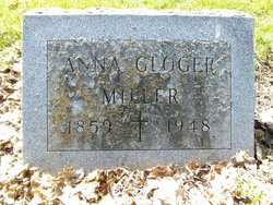 Anna Maria <i>Gloger</i> Miller