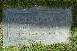 Elizabeth F Riordan