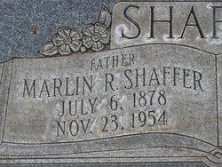 Marlin Ralph Shaffer