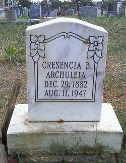 Cresencia <i>Baca</i> Archuleta