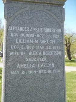 Amelia Evelyn Robertson