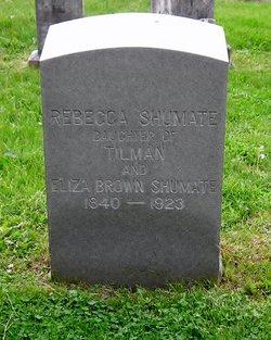 Rebecca Shumate