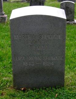 Martha Shumate