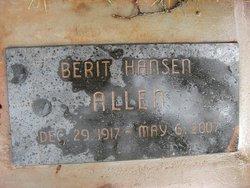 Berit Hansen Allen