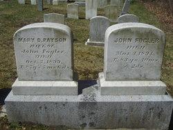 Mary Dakin <i>Payson</i> Fogler