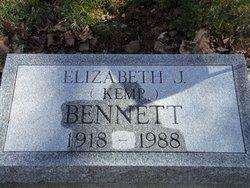 Elizabeth <i>Kemp</i> Bennett