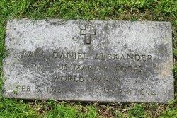 Earl Daniel Alexander